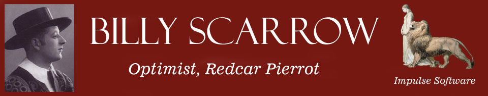 Billy Scarrow Header and Logo